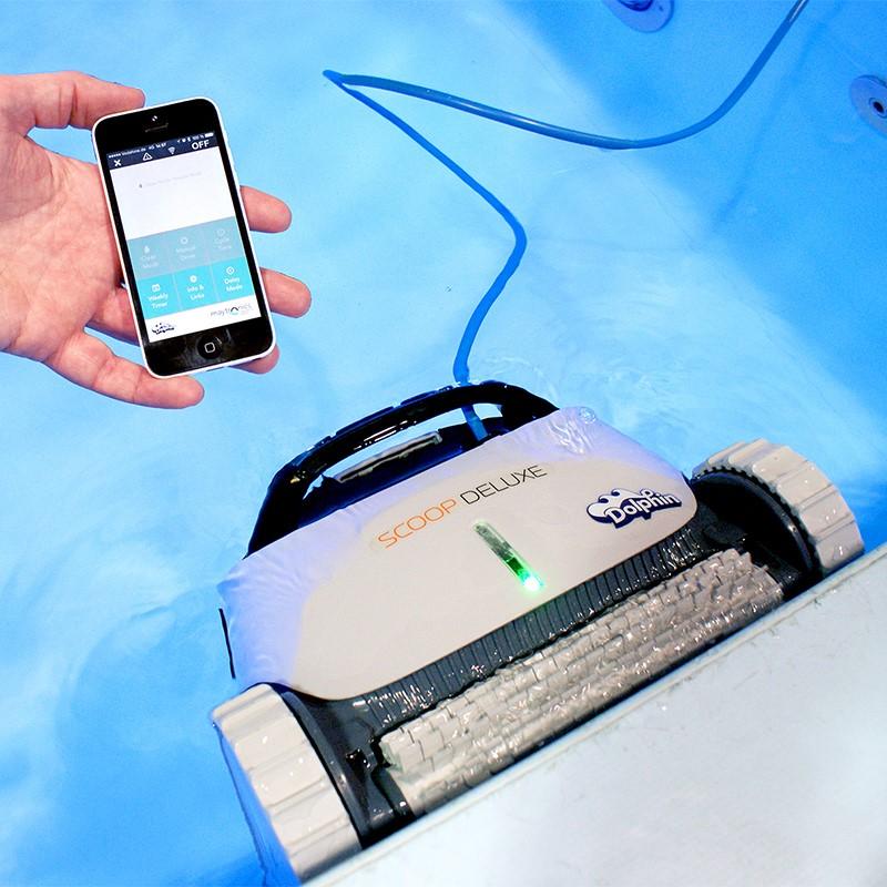 Poolroboter Dolphin Scoop Deluxe App