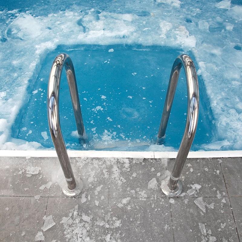 Pool-Einwinterung